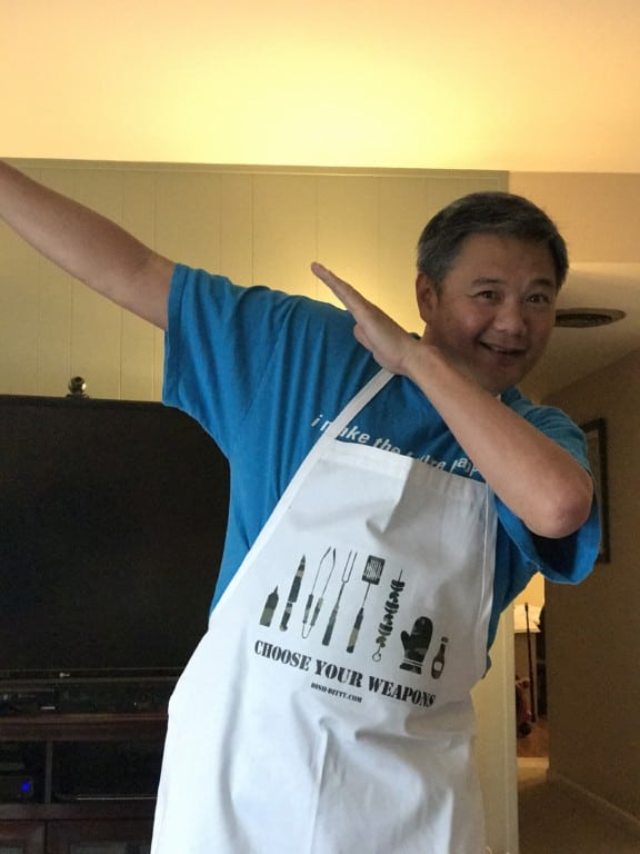 Choose Your Weapon Aprons by Dish Ditty Recipes