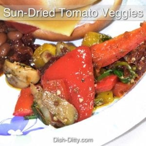 Corina's Sun-Dried Tomato Veggie Medley