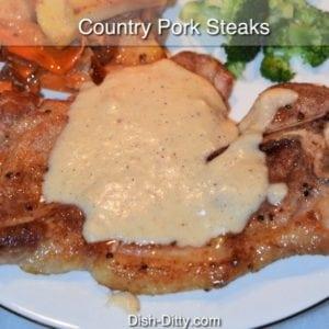 Country Pork Steaks