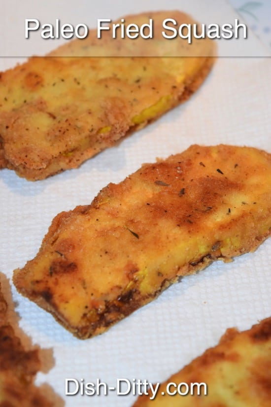 Paleo Fried Squash Recipe by Dish Ditty Recipes