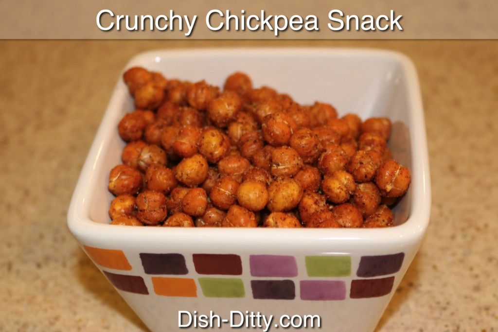 Crunchy Chickpea Snack Recipe by Dish Ditty Recipes