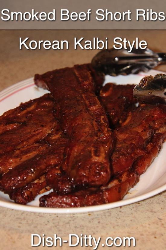 Smoked Beef Short Ribs Recipe by Dish Ditty Recipes