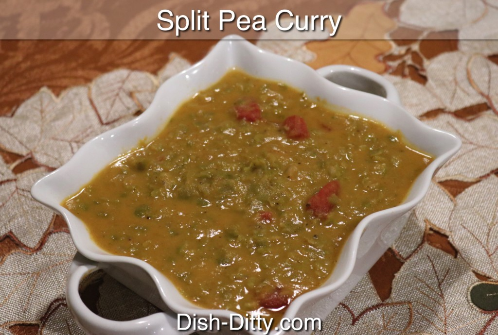 Split Pea Curry Recipe by Dish Ditty Recipes