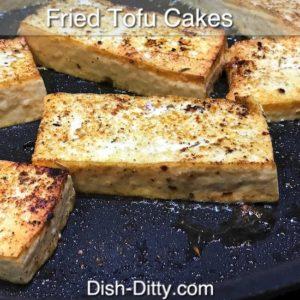 Fried Tofu Cakes