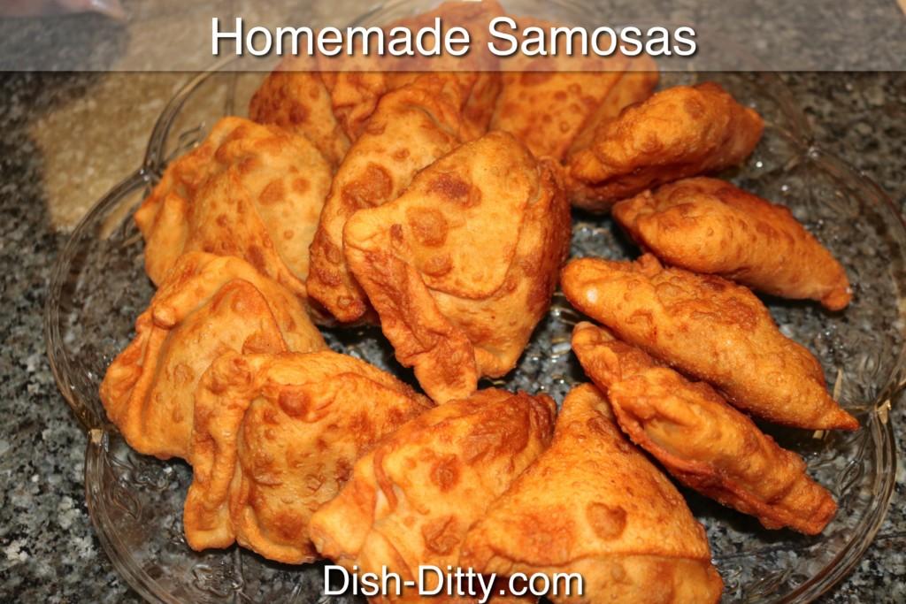 Homemade Indian Samosas Recipe by Dish Ditty Recipes