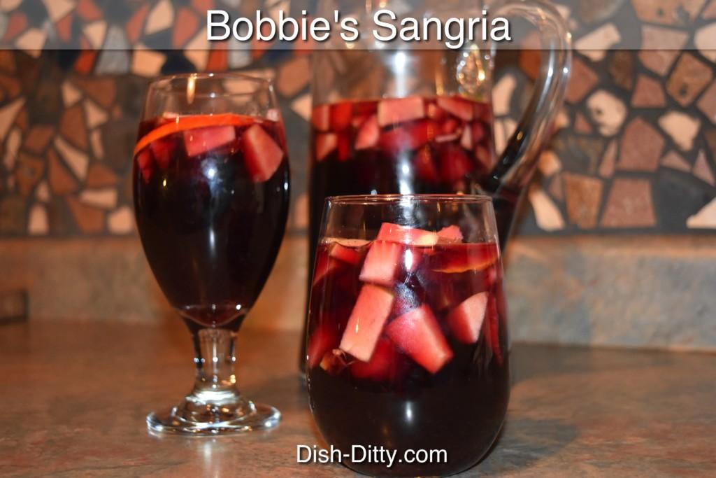 Bobbie's Sangria Recipe by Dish Ditty Recipes