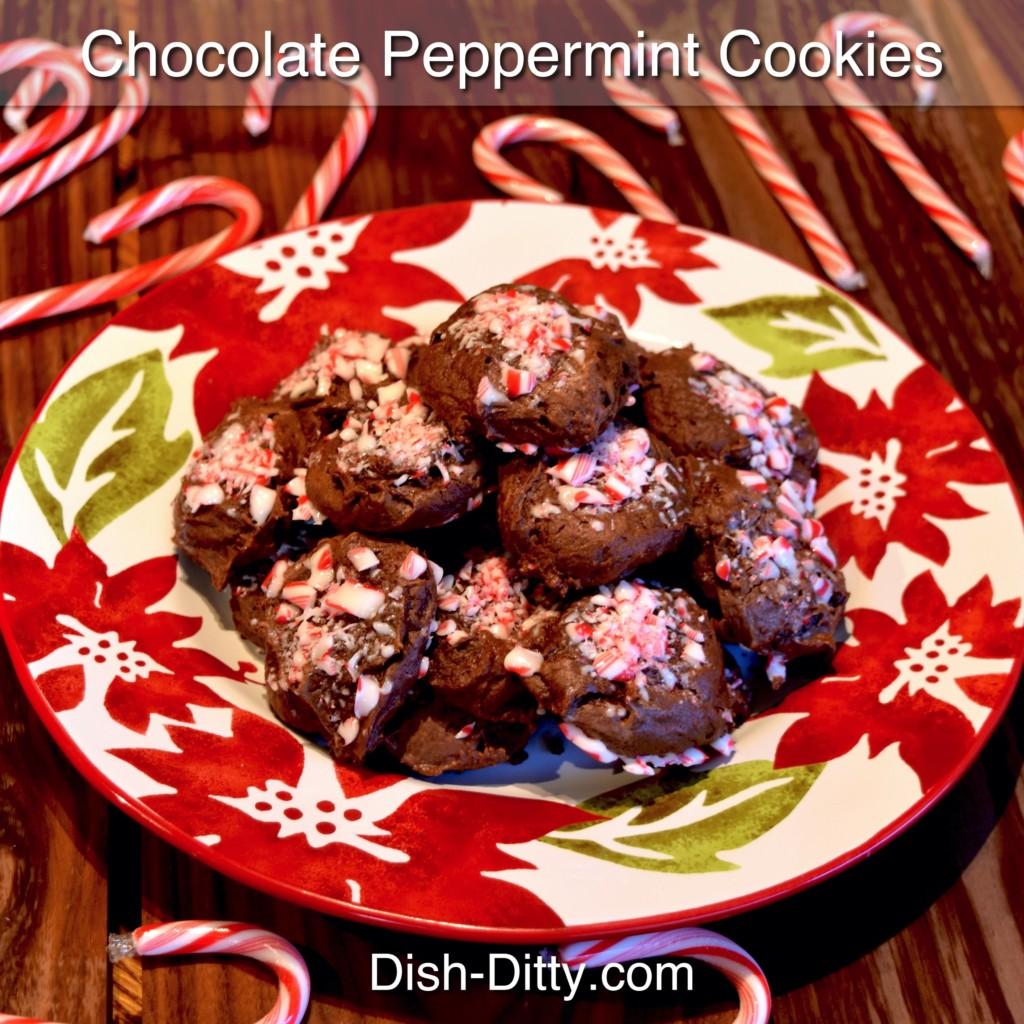 Peppermint Chocolate Cookies Recipe