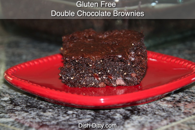 Gluten Free Double Chocolate Brownies Recipe