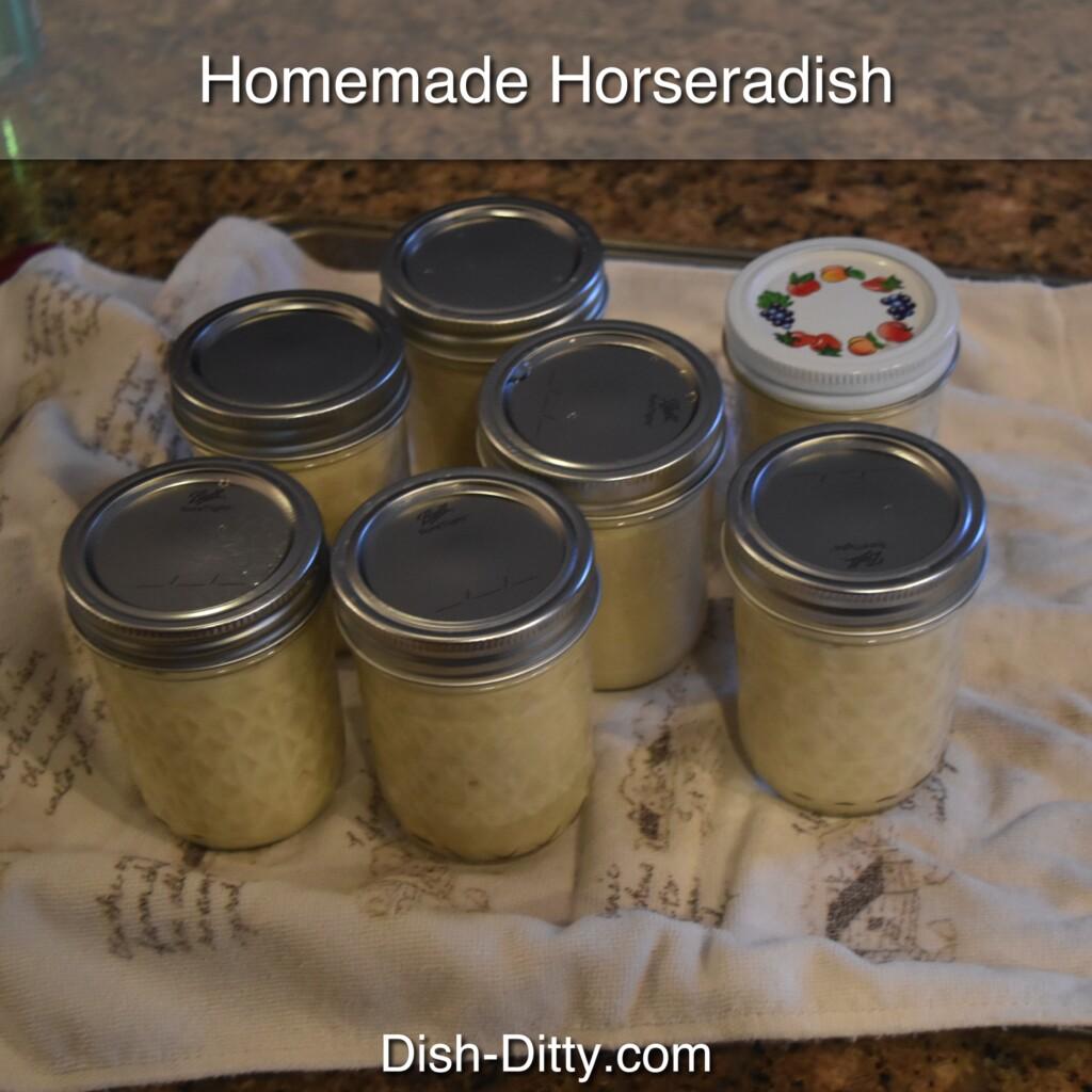 Homemade Horseradish by Dish Ditty Recipes